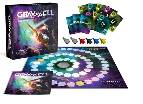 Gravwell - Escape from the 9th Dimension - The Board Game - Renegade Games