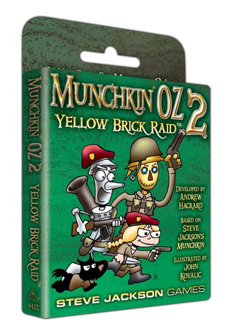 Munchkin Oz 2 - Yellow Brick Raid - Card Game Expansion - Steve Jackson Games