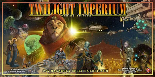 Twilight Imperium - 3rd Edition - An Intergalactic Empire Game - Fantasy Flight