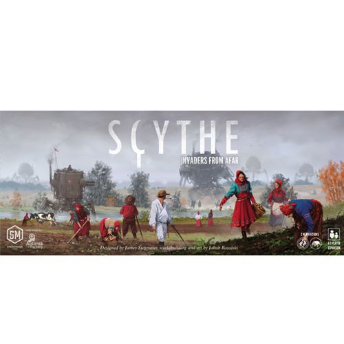 Scythe -  Invaders from Afar - Expansion #1 -  Miniatures Board Game - Greater Than Games