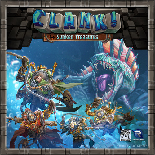Clank! Sunken Treasures - Expansion #1 - Renegade Games