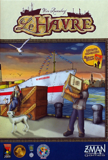 Le Havre with Le Grand Hameau Expansion - Board Game -  Z-Man Games Ed.