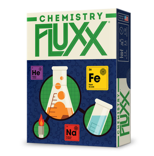 Looney Labs -  Chemistry Fluxx -  An Elemental Card Game - LOO078