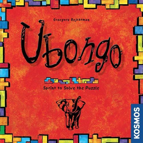 Ubongo - A Geometric Puzzle Game - Thames and Kosmos