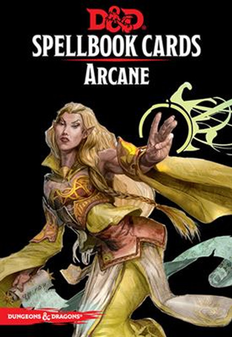 Dungeons and Dragons RPG - Spellbook Cards - Arcane Deck (253 cards) - Gale Force 9