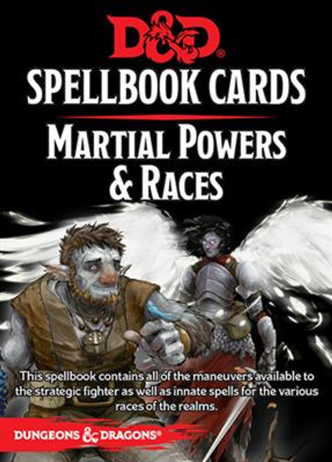 Dungeons and Dragons RPG - Spellbook Cards - Martial Deck (61 cards) - Gale Force 9