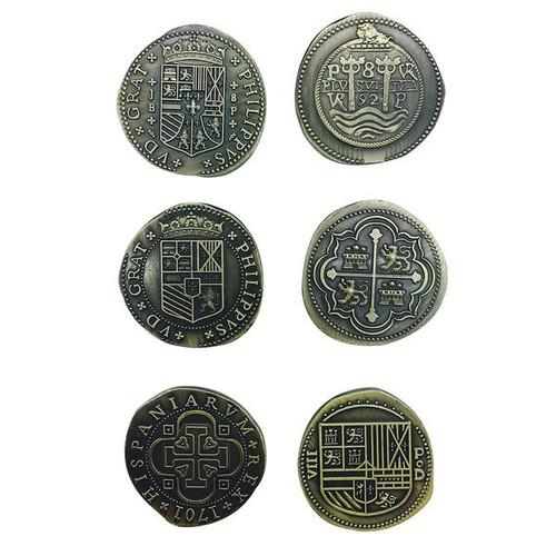 "Norse Foundry - Adventure Coins - Variety Pack  (Set of 10) ""Historic Doubloons"