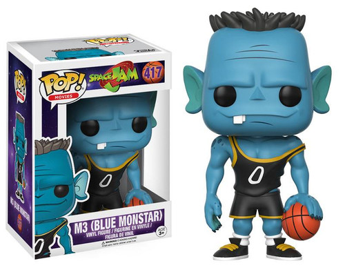 POP! Vinyl Figure - Movies #417 - Space Jam - M3 - Blue Monstar