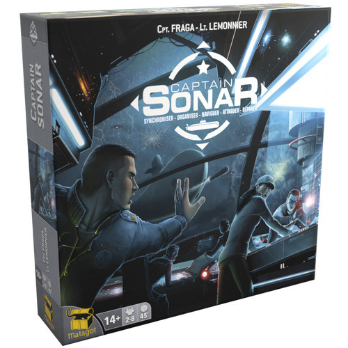 Captain Sonar - Upgrade One! Expansion - Asmodee Games