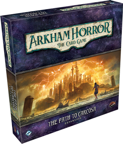 Arkham Horror - LCG - Card Game - The Path to Carcosa - Deluxe Expansion