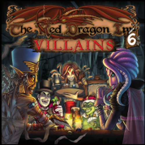 The Red Dragon Inn 6 - Villains - Card/Board Game - SlugFest Games - KickStarter Ed.