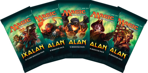 Magic the Gathering - Ixalan 2017 - Booster Packs - Wizard of the Coast