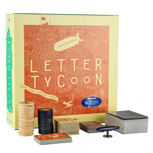 Letter Tycoon - A Fun Word Board Game - Breaking Games