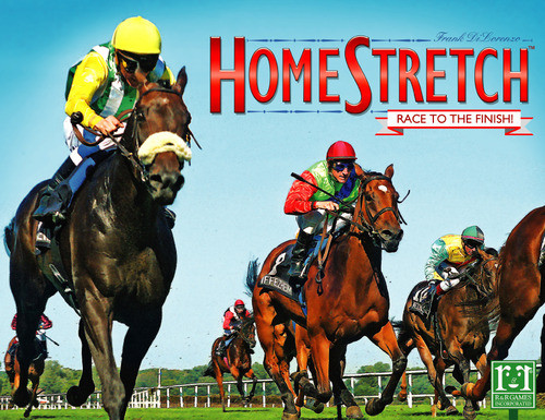 Homestretch - A Horse Racing Board Game  - R and R Games