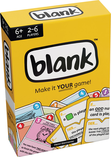 Blank! Make your own Game - Asmodee Editions