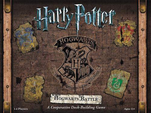 Harry Potter - Hogwarts Battle - Deck Building Game - USAOpoly