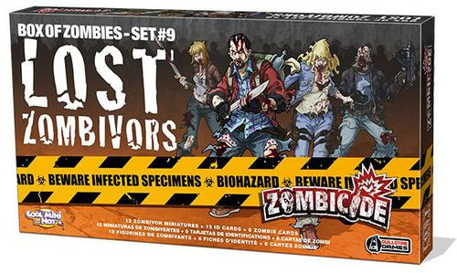 Zombicide - Box of Zombies - Set #7 - Lost Zombivors - Expansion - CMON Games