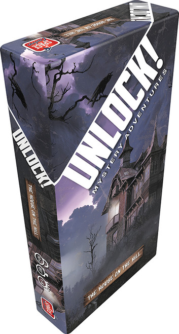 Unlock! The House On The Hill - A Haunted Adventure Escape Game - Asmodee