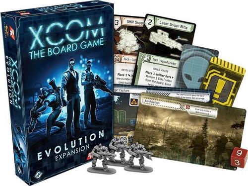 XCOM - The Board Game - Evolution Expansion - Fantasy Flight Games