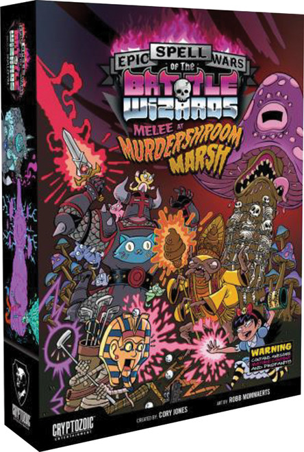 Epic Spell Wars of the Battle Wizards 3 - Melee at Murdershroom Marsh - Cryptozoic Entertainment
