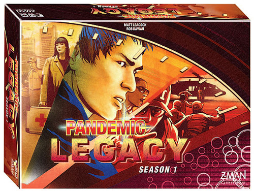 Pandemic - Legacy - Season One - Red - Z-Man Games