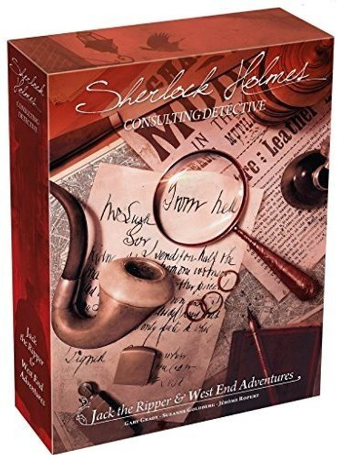 Sherlock Holmes Consulting Detective - Jack the Ripper and West End Adventures - Asmodee