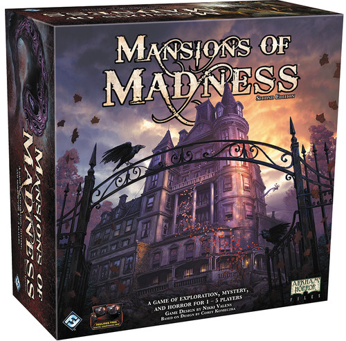 Mansions of Madness - A Cooperative Cthulu Horror Game - 2nd Ed. - Fantasy Flight