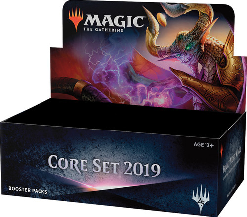Magic the Gathering - Core Set 2019 - Booster Packs - Wizard of the Coast