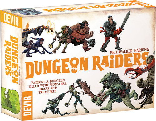 Dungeon Raiders - 2nd Edition - Devir Games