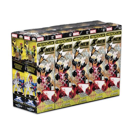 Heroclix - Marvel HeroClix: X-Men Xavier's School Booster Case - 20 Boosters
