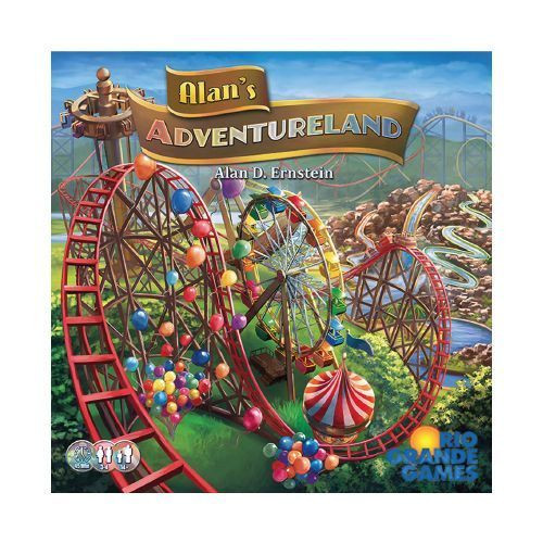 Alan's Adventureland - Theme Park Board Game - Rio Grande