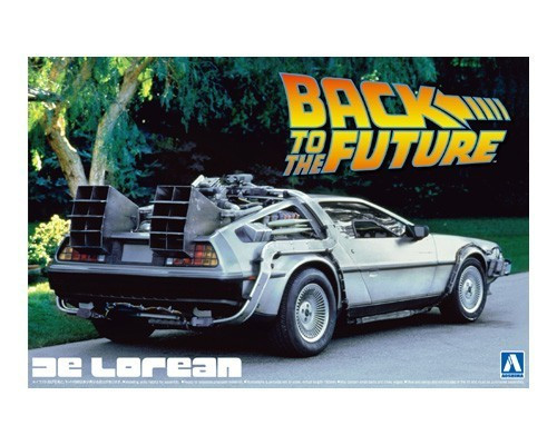Back to the Future: 1:24 Delorean Scale Model Kit - Aoshima Models