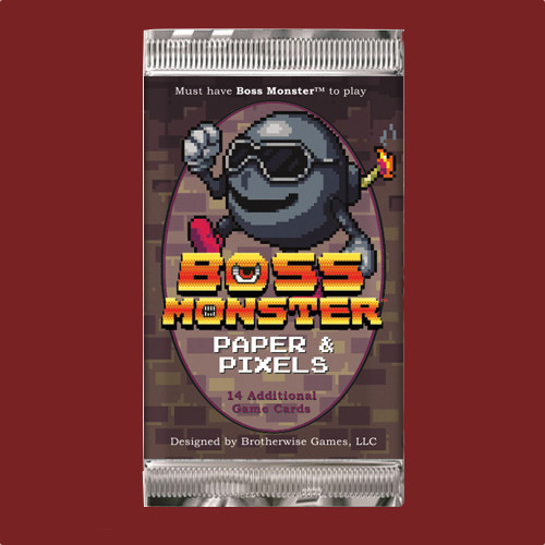 Boss Monster - Paper and Pixels - 14 card Expansion Pack