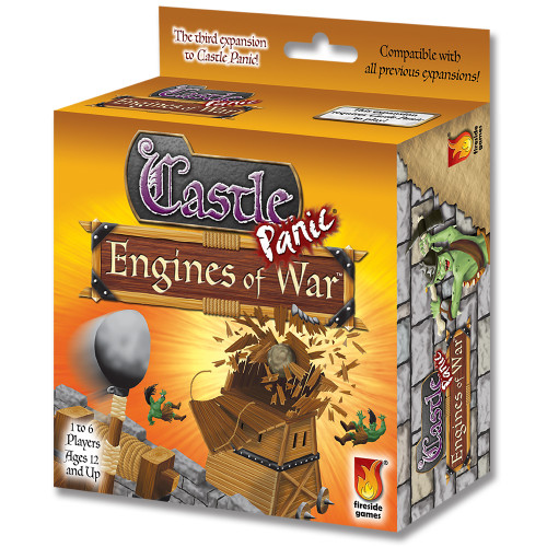 Castle Panic - EXPANSION #3 - Engines of War - Co-op Board Game - Fireside Games