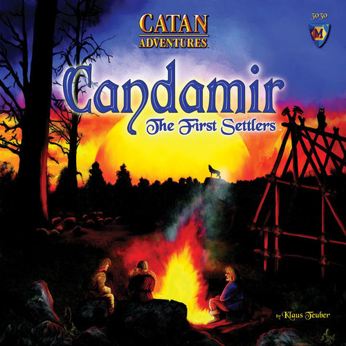 CATAN Adventures - Candamir - The First Settlers - Board Game - Mayfair Games