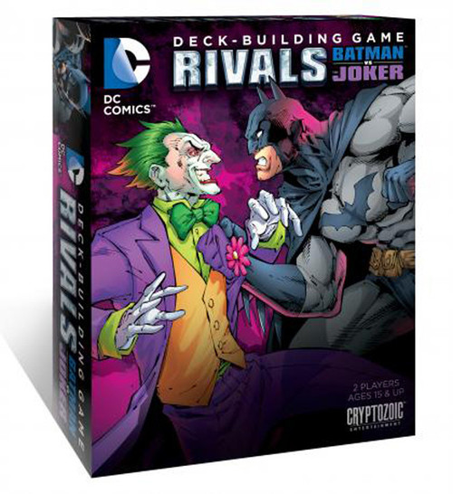 DC Comics Deck Building Game - DC Rivals - Batman vs. Joker Card Game Expansion