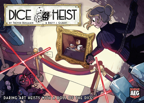 Dice Heist - The international Intrigue Dice Game - AEG - AEG5879