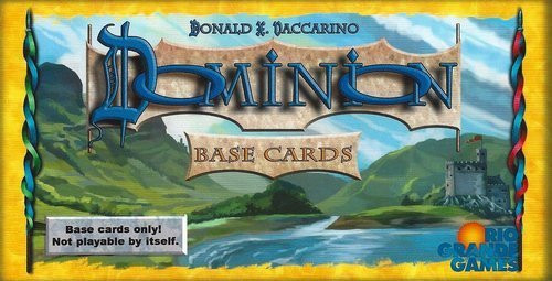 Dominion - The Base Cards 1st Ed. - Rio Grande Games