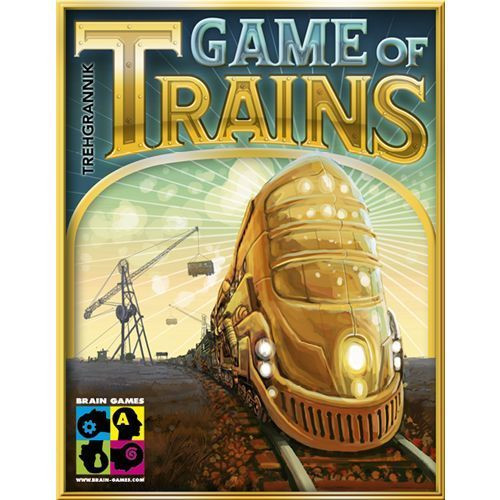 Game of Trains - Card Game - Brain Games Publishing