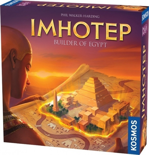 Imhotep - A Board Game of Ancient Egyptian Builders - Thames and Kosmos