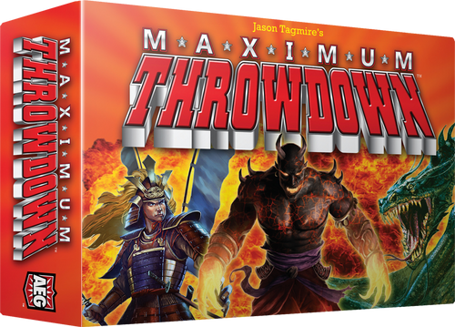 Maximum Throwdown - Card Game - AEG