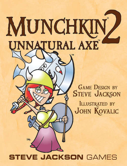 Munchkin 2 - Unnatural Axe! Card Game Expansion