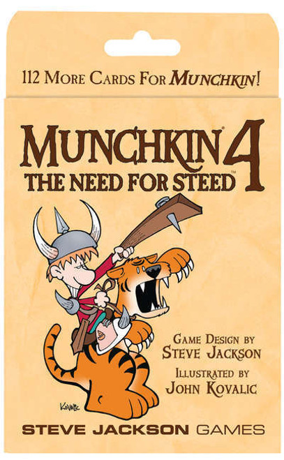 Munchkin 4 - The Need for Steed Card Game Expansion
