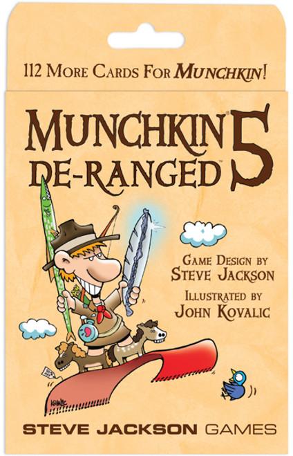 Munchkin 5 - De-Ranged Card Game Expansion