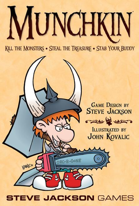 Munchkin (Base Set) - The Card Game - Steve Jackson Games