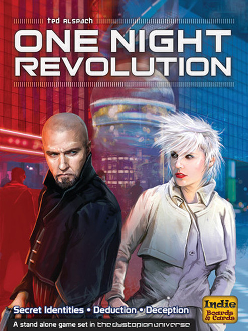 One Night Revolution - A Group Game - Indie Boards & Cards