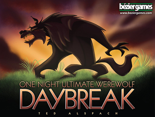 One Night Ultimate Werewolf - DAYBREAK - Party Board Game - Bezier Games