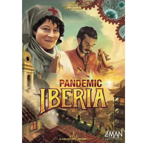 Pandemic - Iberia -  LIMITED EDITION - The Co-Operative Board Game - Z-Man Games