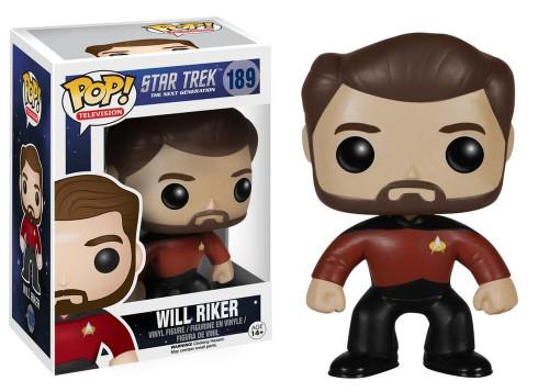 POP! Vinyl Figure - TV #189 - Star Trek - The Next Generation - Will Riker
