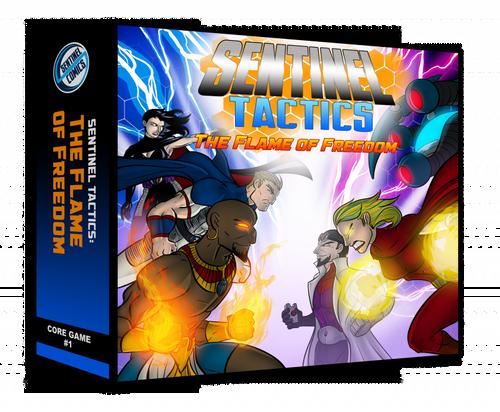 Sentinel Tactics - The Flame of Freedom -  Miniatures Game + Bonus Promo Deck